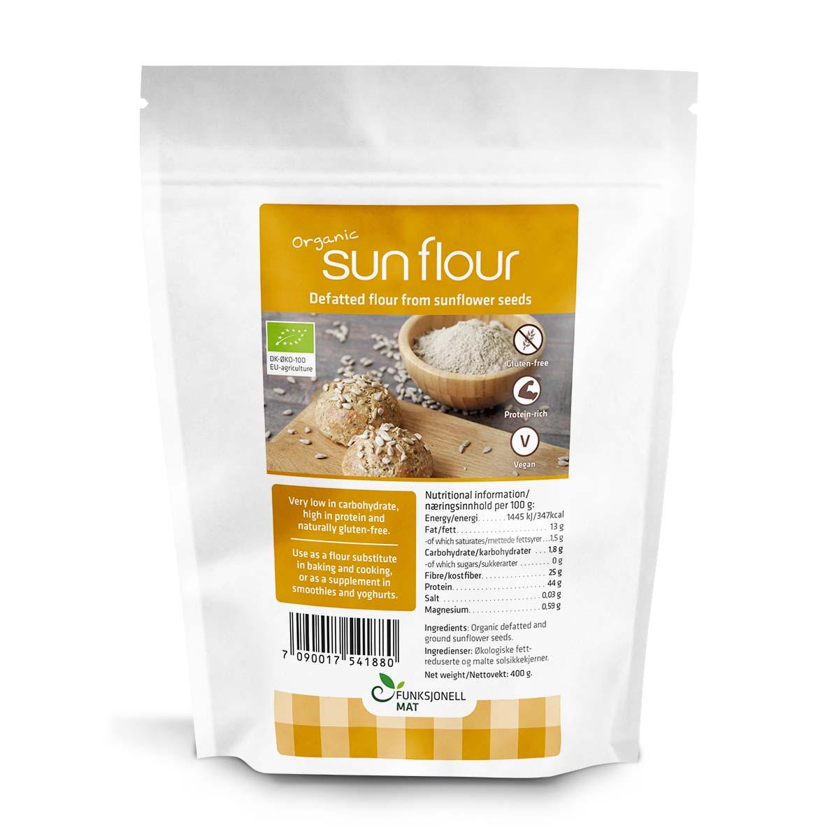 Funksjonell sun flour 400 gr