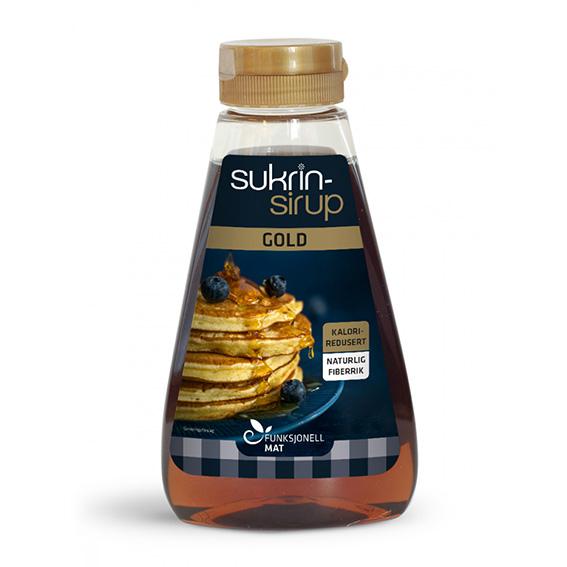 Funksjonell sukrin sirup gold 450 gr