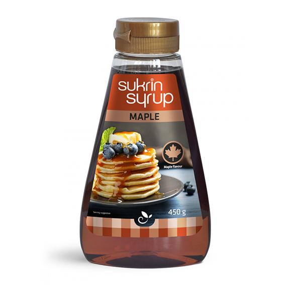 Funksjonell sukrin sirup maple 450 gr