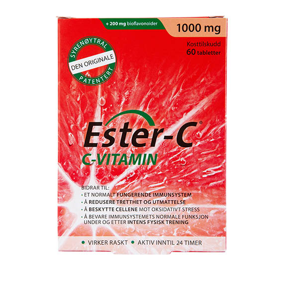 Ester-C vitamin c 1000 mg 60 tab