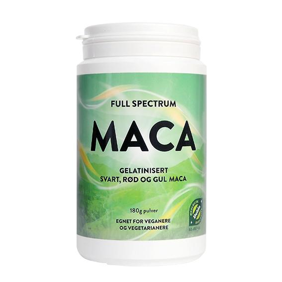 Full spectrum maca pulver 180 gr