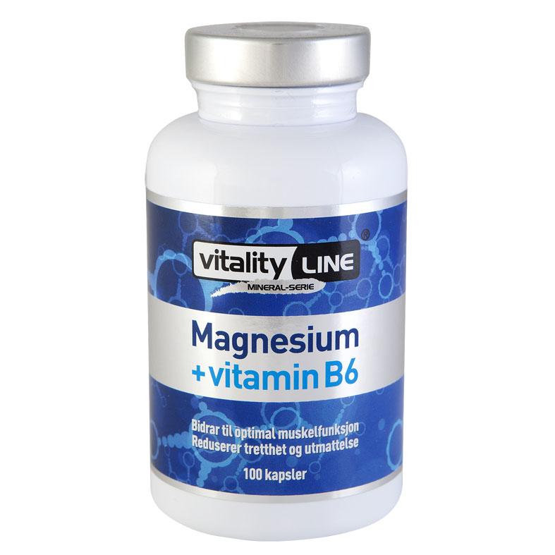 Vitality Line magnesium + B6 100 kap