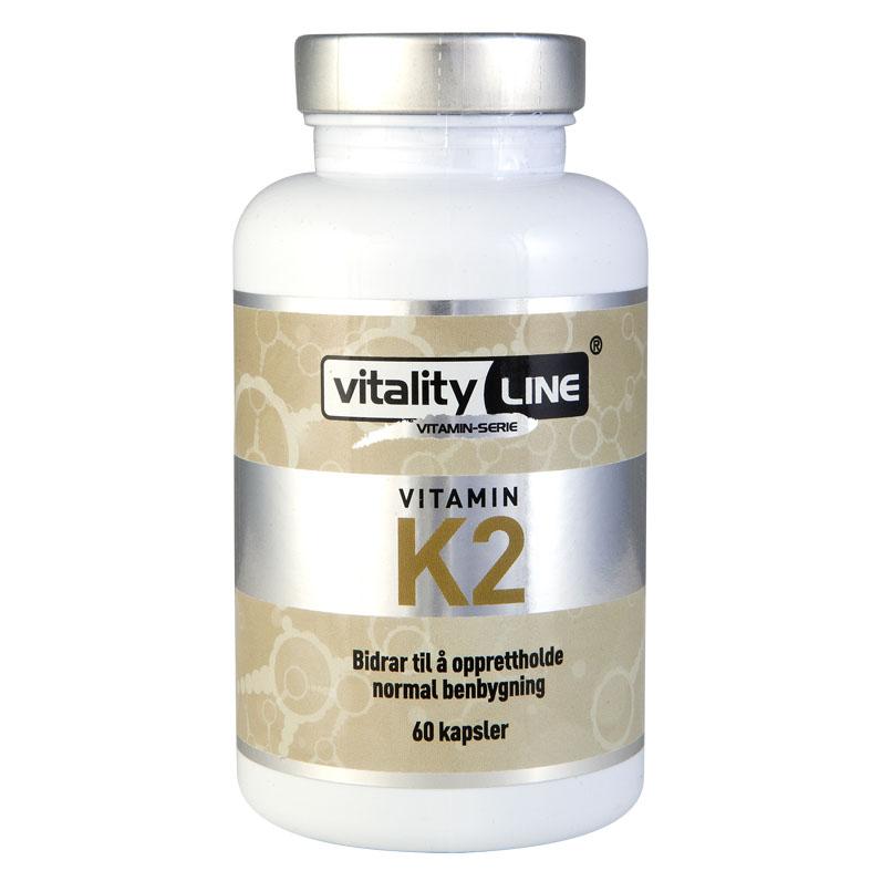 Vitality Line vitamin K2 60 kap