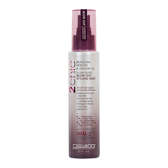 Giovanni keratin & argan blow out styling mist 118 ml