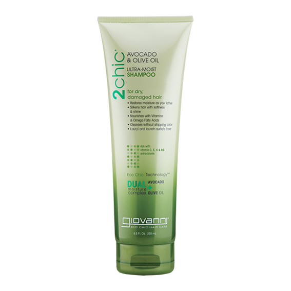 Giovanni avocado & olive oil ultra moist shampoo 250 ml