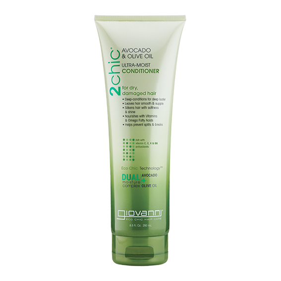 Giovanni avocado & olive oil ultra moist conditioner 250 ml