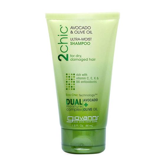 Giovanni avocado & olive oil ultra moist shampoo 44 ml