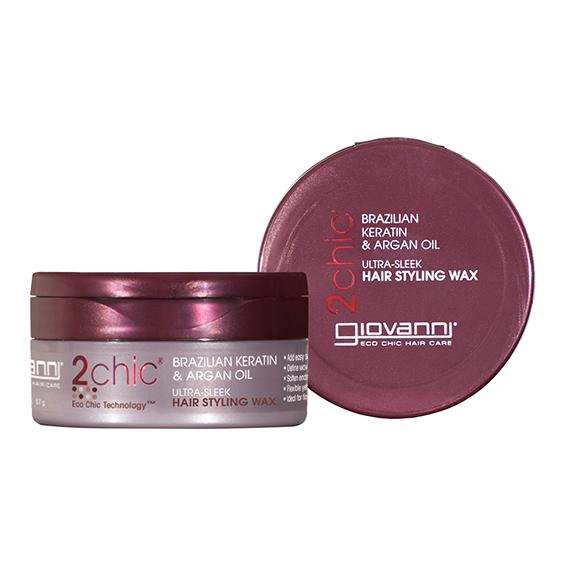 Giovanni keratin & argan hair styling wax 57 gr