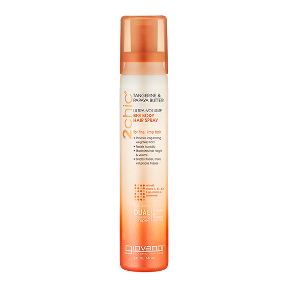 Giovanni tangerine & papaya hair spray 147 ml