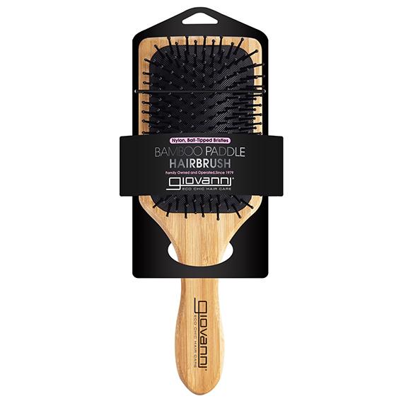 Giovanni bamboo paddle hair brush