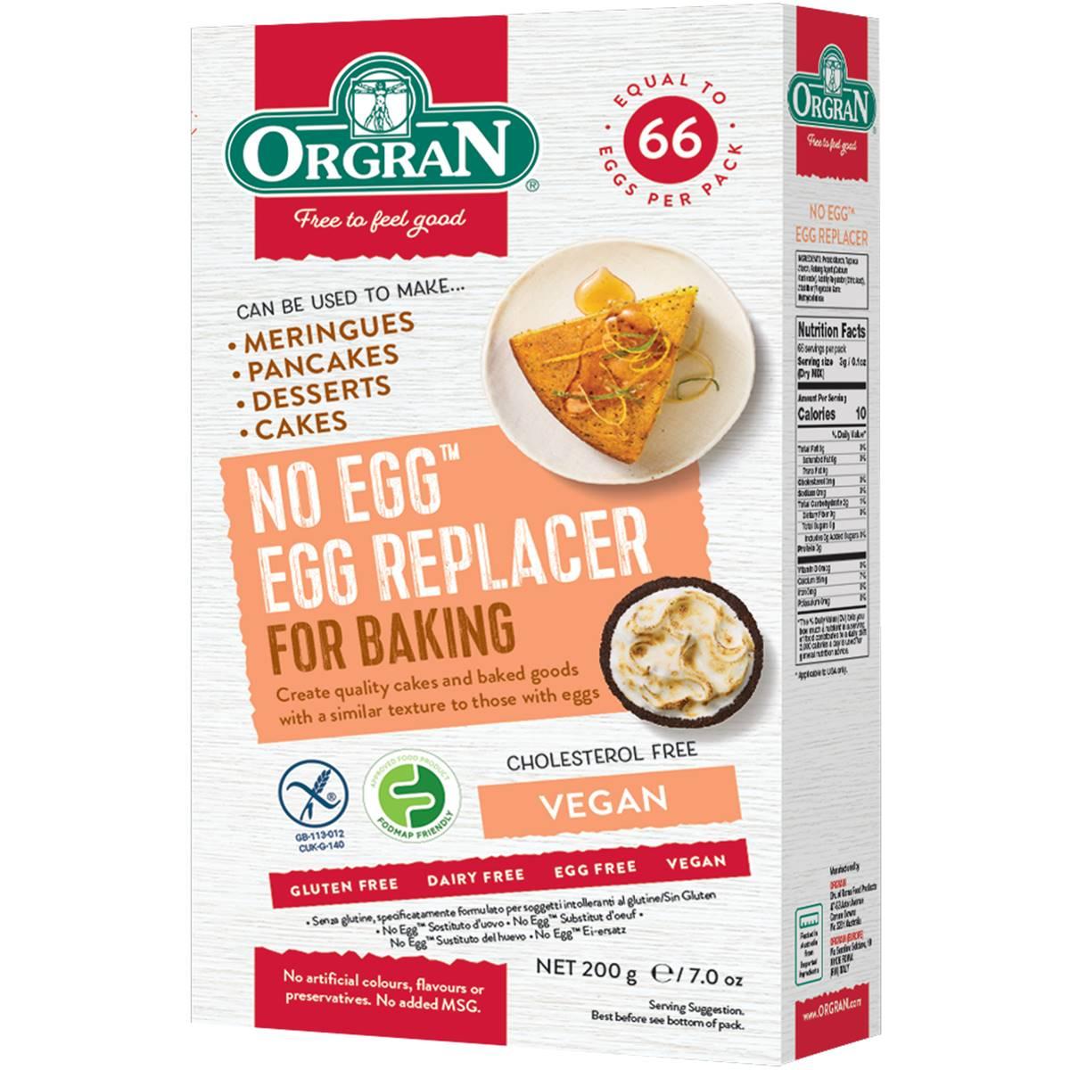 Orgran no egg natural egg replacer 200 gr