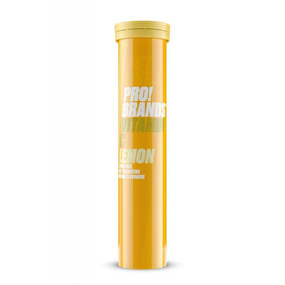 Fcb vitamin c 1000 mg 20 brusetabletter sitron