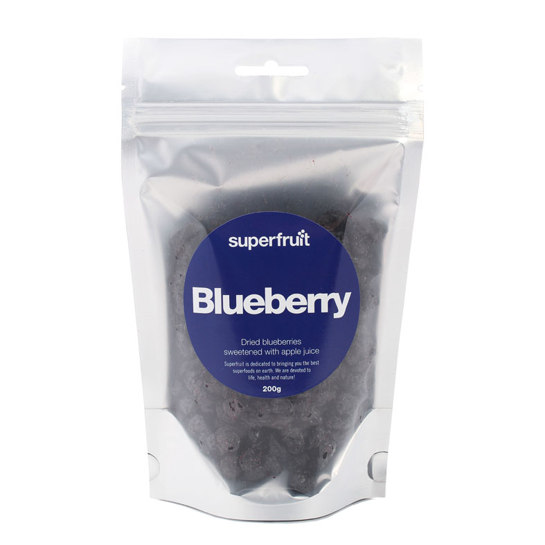 Superfruit blåbær 200 gr