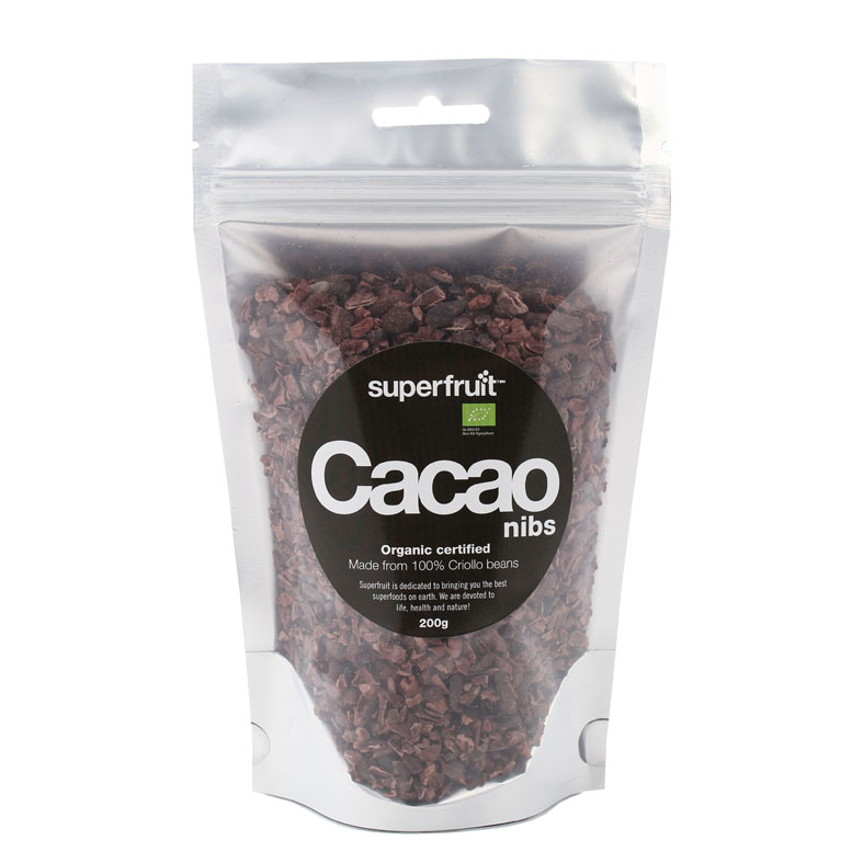Superfruit cacao nibs 200 gr