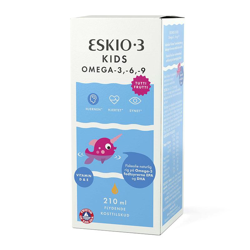 Eskio-3 kids med tutti frutti smak 210 ml