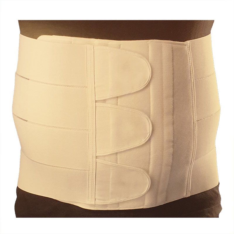 Flex Abdo magebrokkbandasje høy hvit large