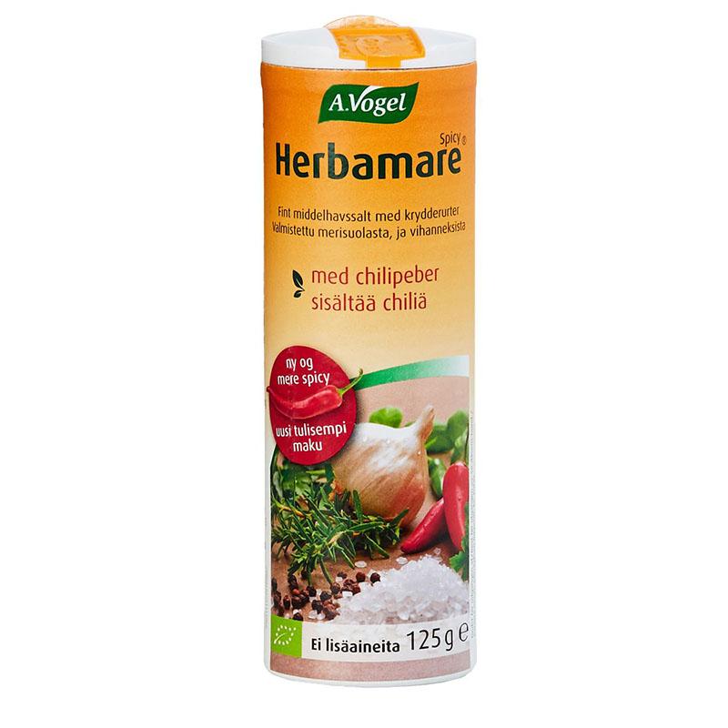 A.Vogel herbamare spicy urtesalt 125 gr