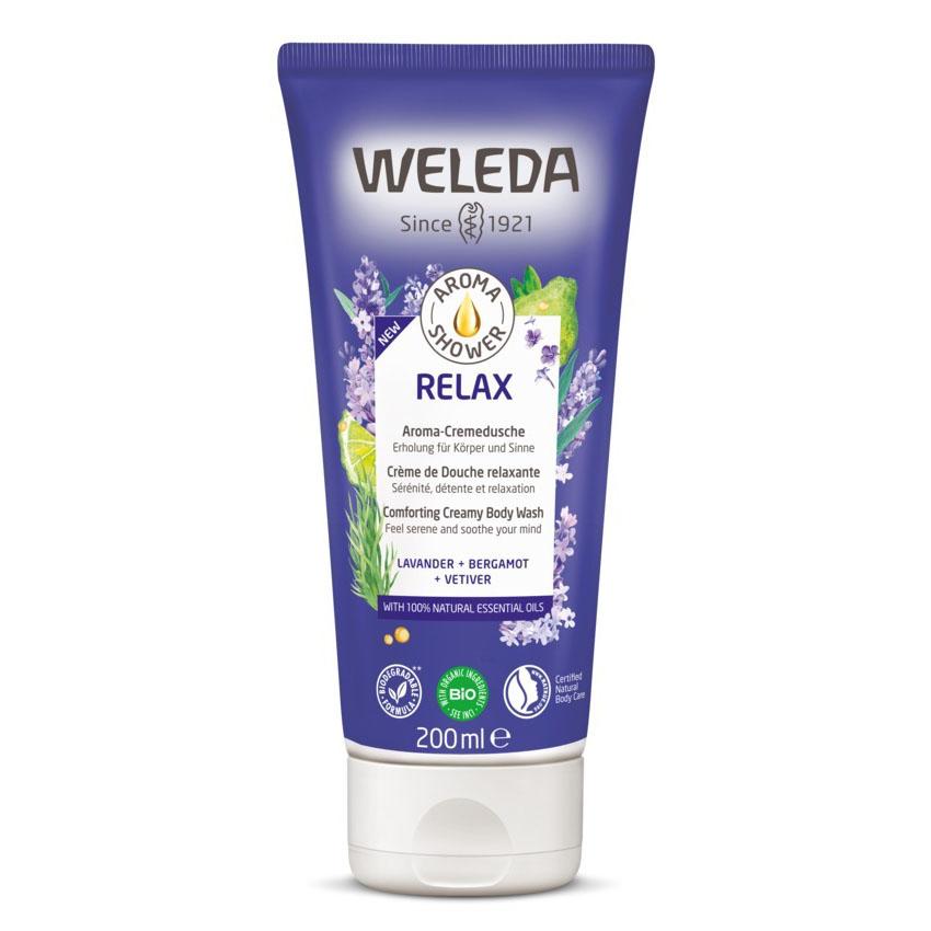 Weleda lavendel aroma shower relax 200 ml