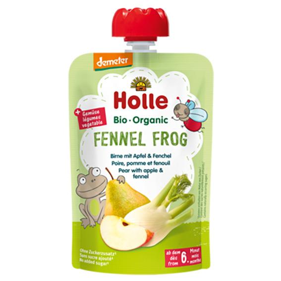 Holle smoothie fennel frog 100 gr
