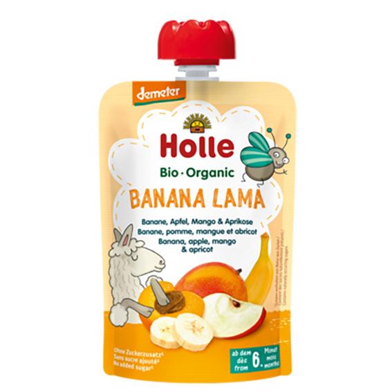 Holle smoothie panda peach 100 gr