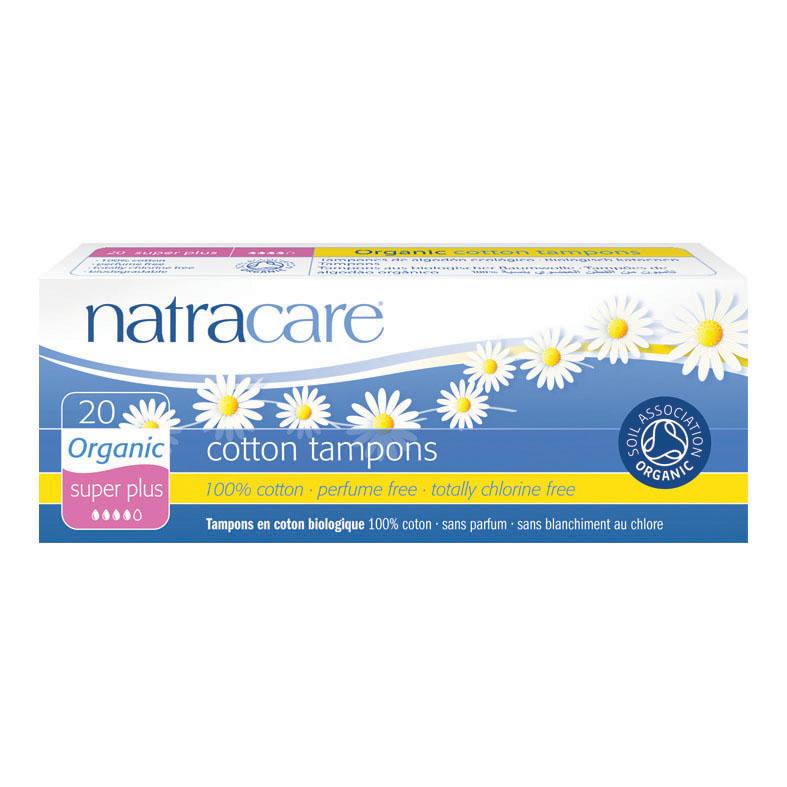 Natracare 2002 cotton tampons super plus 20 stk