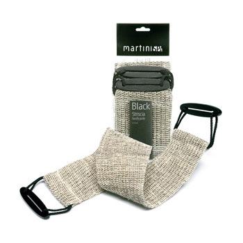 Martini Spa massage natural peeling strap sisal