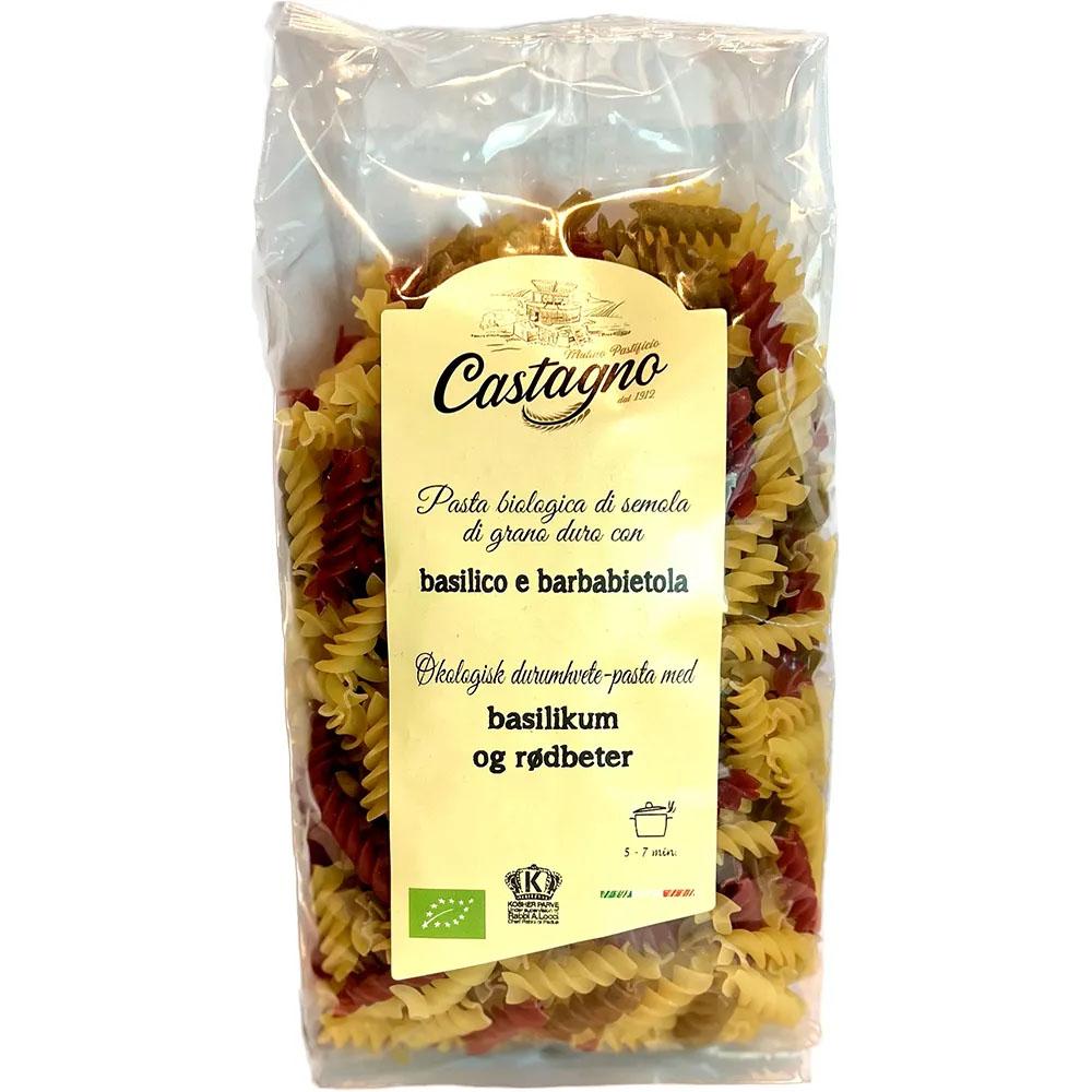 Castagno durum skruer basilikum og rødbeter 500 gr