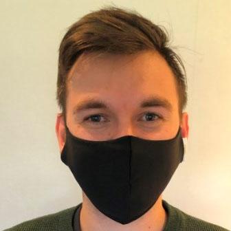 Vivitex ansiktsmaske sort