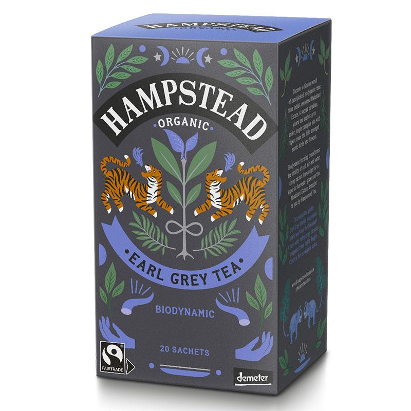 Hampstead Tea earl grey te 20 poser