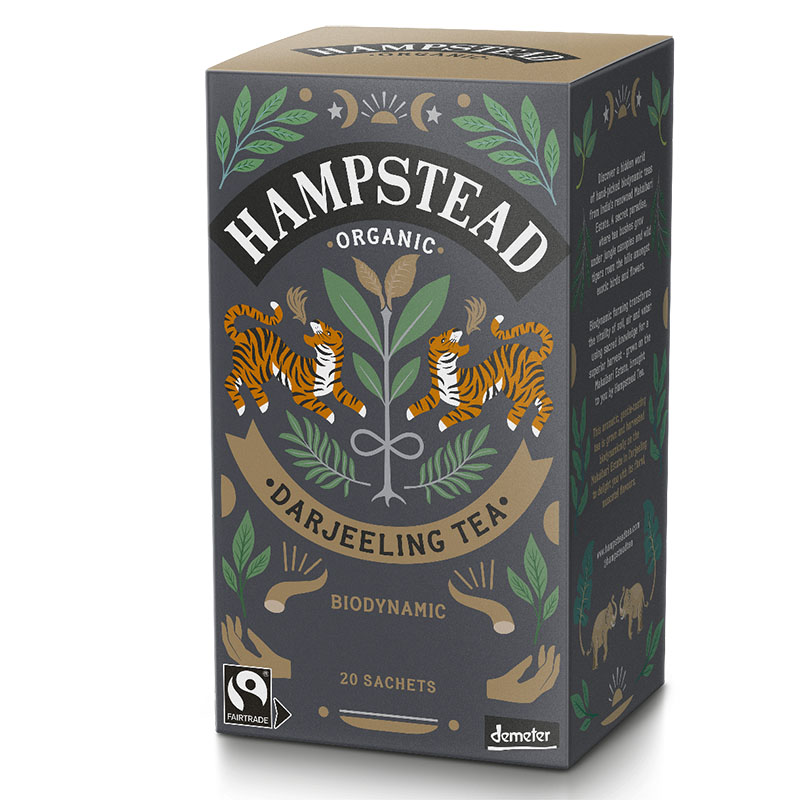 Hampstead Tea darjeeling te 20 poser