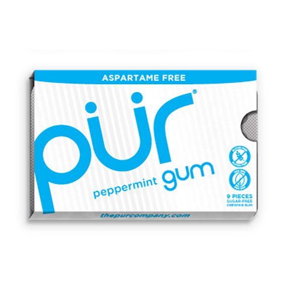 Pur gum peppermint 9 stk
