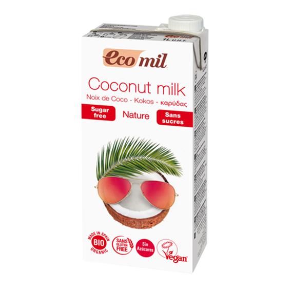 Ecomil kokosmelk 1 l
