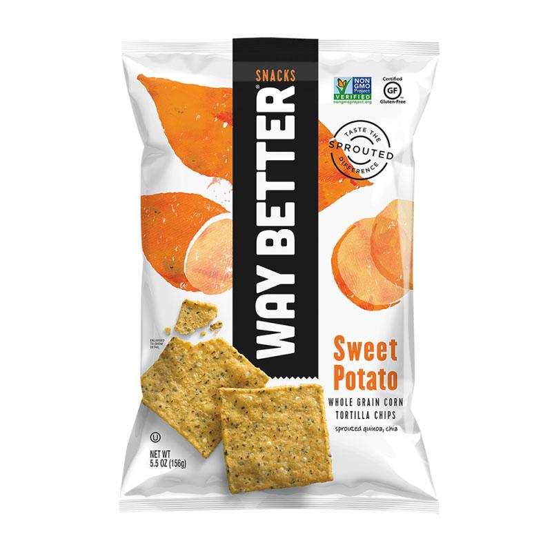 Way Better spiret tortilla chipa sweet potato 156 gr