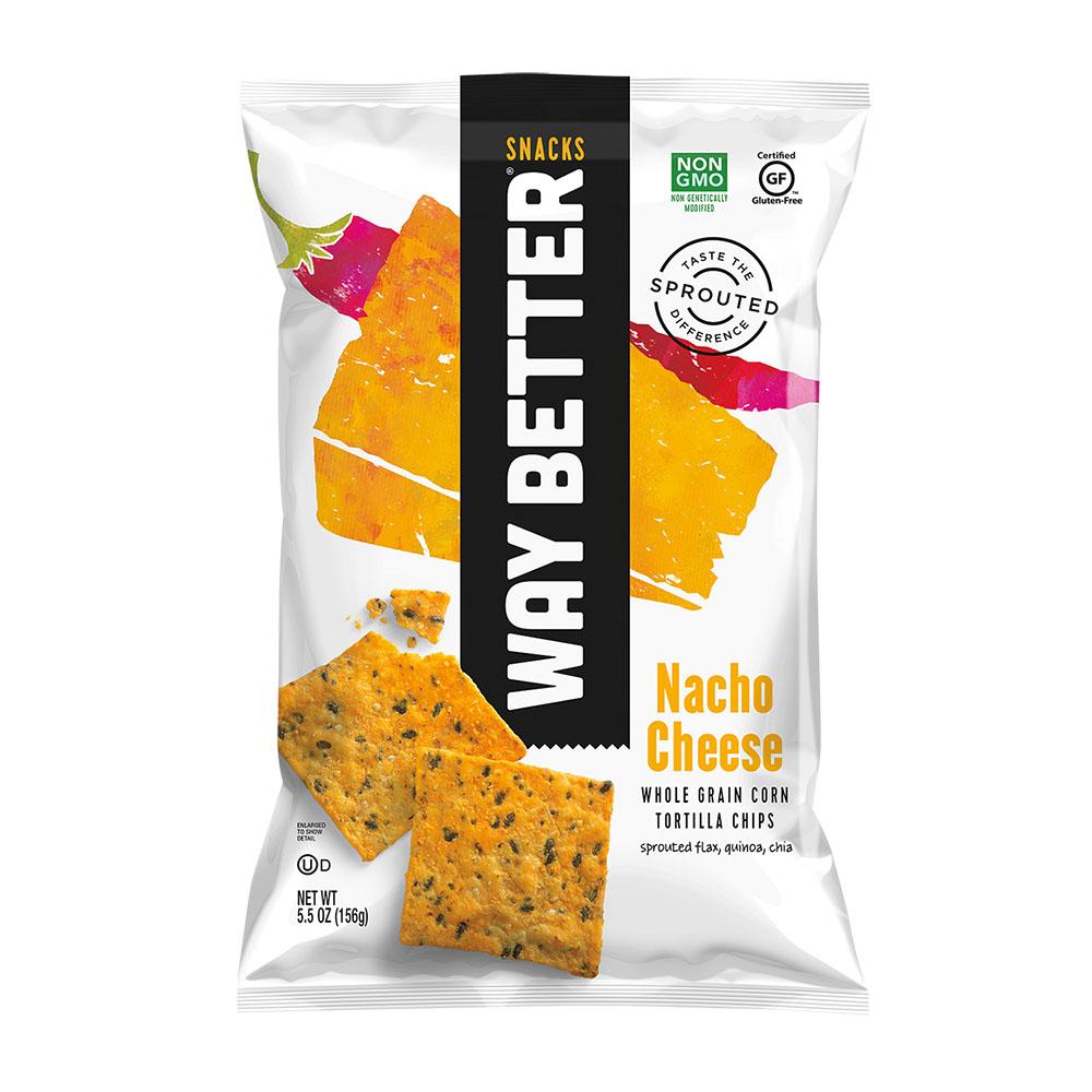 Way Better spiret tortilla chips nacho cheese 156 gr