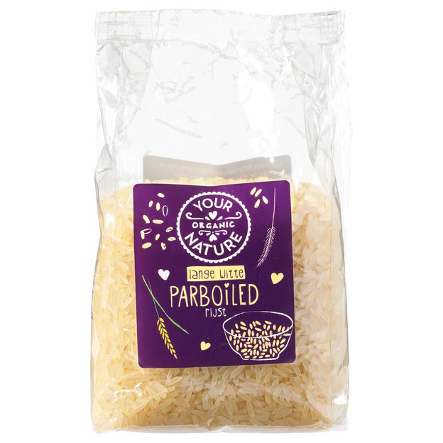 Your Organic Nature parboiled ris 400 gr