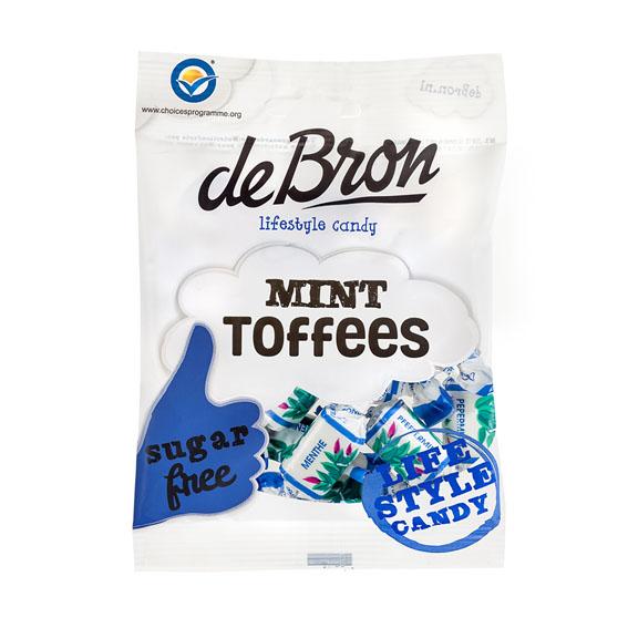 Debron mint toffees sukkerfri 90 gr