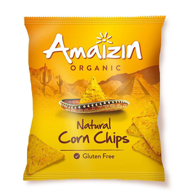 Amaizin tortillachips mais m/salt 150 gr øko