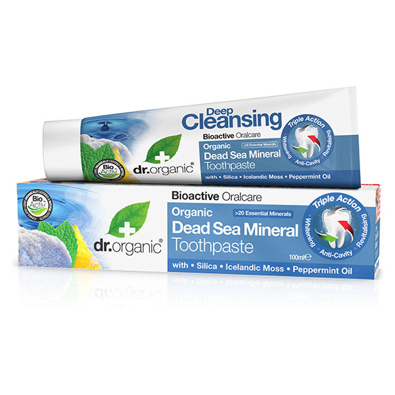 Dr. Organic dead sea toothpaste 100 ml