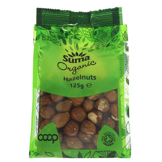 Suma organic hazelnuts 125 gr