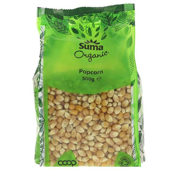 Suma organic popcorn 500 gr