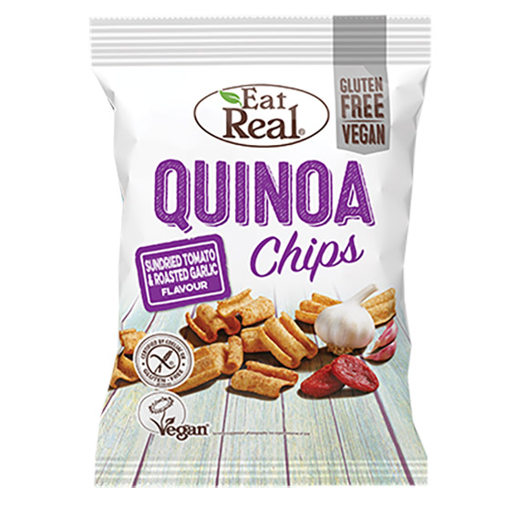 Eat Real quinoa chips sundried tomato and garlic 80 gr
