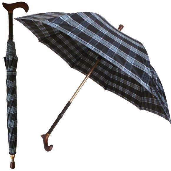 Paraply spaserstokk 82-90 cm